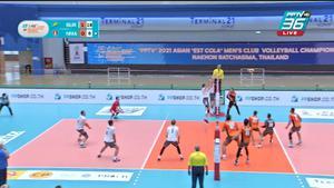 ไฮไลท์ | พีพีทีวี วอลเลย์บอลสโมสรชาย เอสโคล่า ชิงชนะเลิศแห่งเอเชีย | บูเรเวสต์นิค อัลมาตี 3-0 นครราชสีมา คิวมินซี วีซี | 15 ต.ค. 64