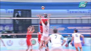 ไฮไลท์ | พีพีทีวี วอลเลย์บอลสโมสรชาย เอสโคล่า ชิงชนะเลิศแห่งเอเชีย | อัล-อาราบี สปอร์ตส์ คลับ 1-3 ซีร์จาน ฟูลาด | 15 ต.ค. 64