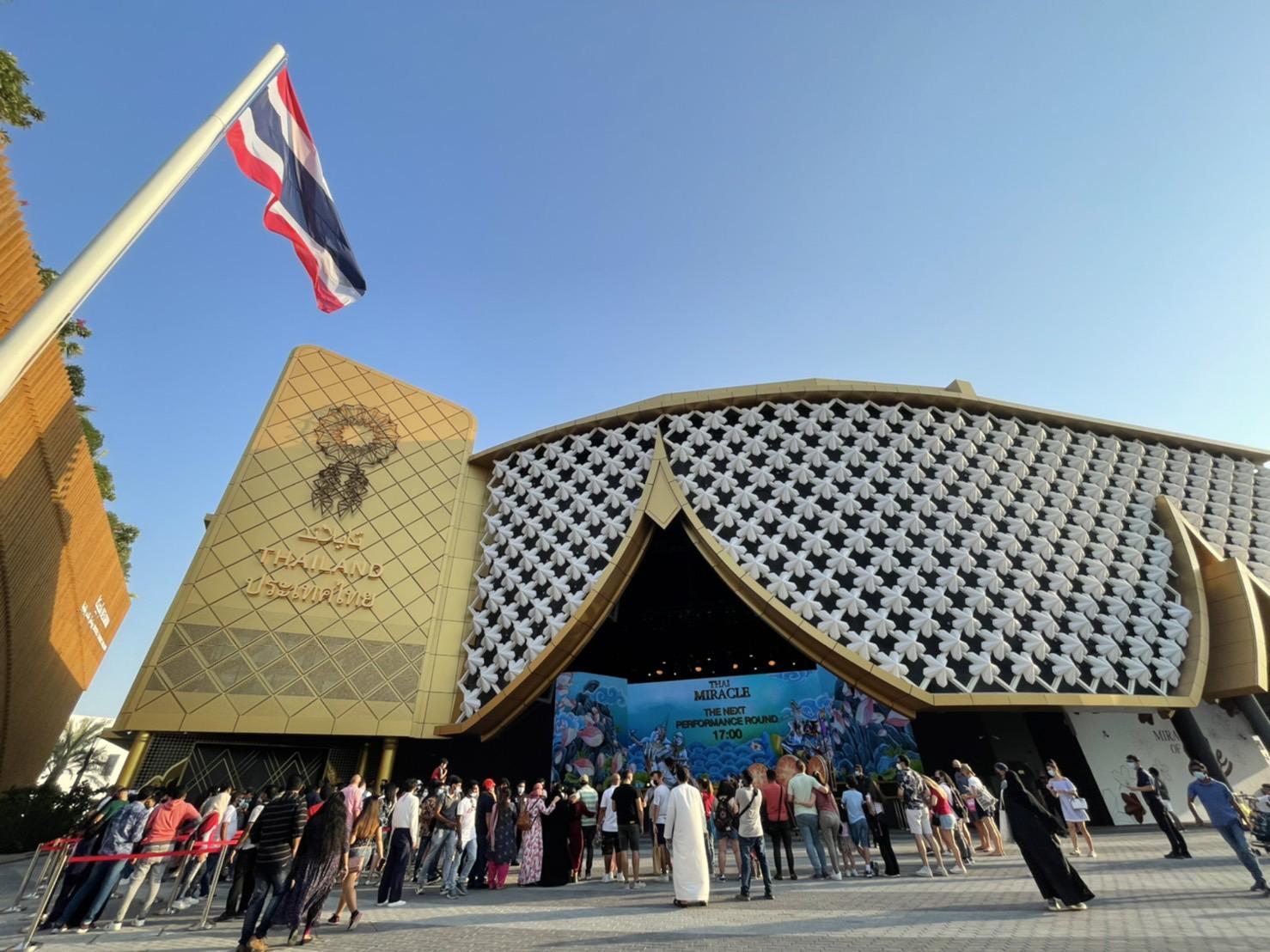 อาคารแสดงประเทศไทย World Expo 2020 Dubai ยอดชมทะลุแสนใน 2 สัปดาห์