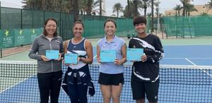 ลักษิกา คืนคอร์ตควงสาวญี่ปุ่นคว้าแชมป์เทนนิสอาชีพแรกในรอบ 3 ปี