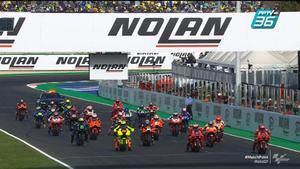 ชมจังหวะออกตัว MotoGP 2021 สนามที่ 16 Francesco Bagnaia ขึ้นเป็นผู้นำช่วงต้นการเเข่งขัน